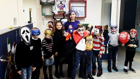 Happy Halloween 2018 в школе иностранных языков Брава Лингва