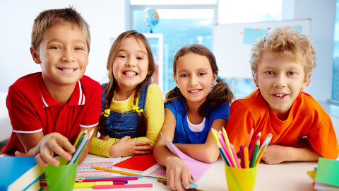 Новый набор для дошкольников и школьников