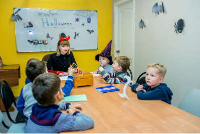 Happy Halloween 2017 в школе иностранных языков Брава Лингва