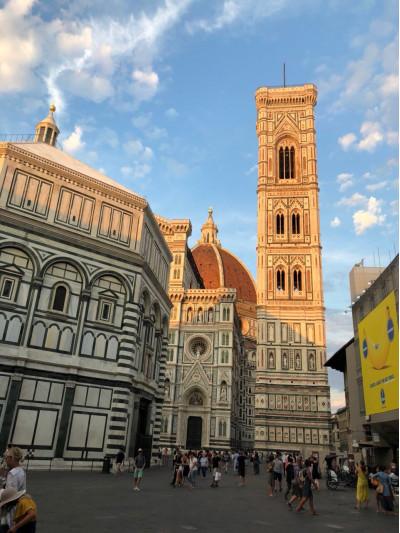Поездка во Флоренцию и Тоскану (Италия) от школы иностранных языков в Брянске