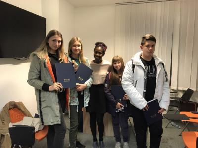 Поездка на осенние каникулы в Прагу от школы иностранных языков в Брянске